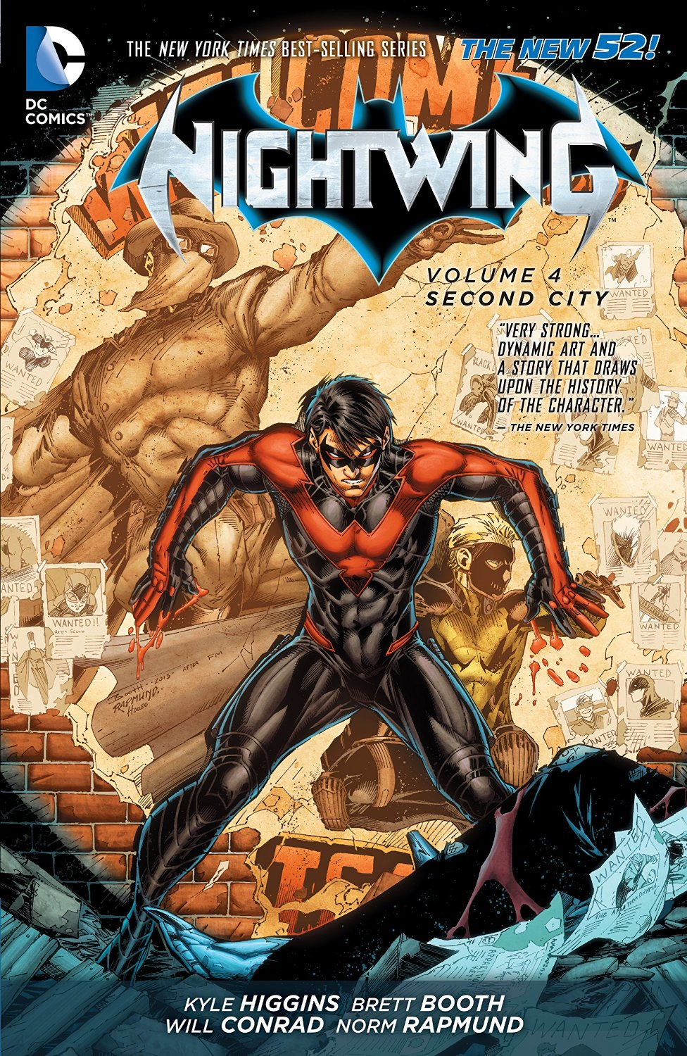 review nightwing vol 4 second city comicbookwire. Black Bedroom Furniture Sets. Home Design Ideas